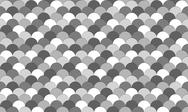 Stock Illustration of greyscale fish scale pattern