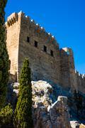 Knights Grand Master Palace - stock photo