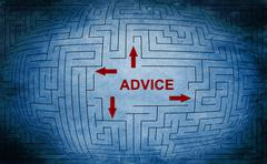 Stock Illustration of advice