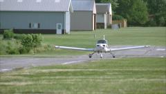 Grumman Cheetah Take Off Stock Footage
