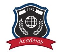 Academy emblem Stock Illustration