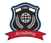 academy emblem - stock illustration
