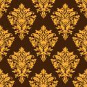 Stock Illustration of arabesque damask style seamless pattern