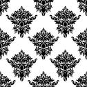 Stock Illustration of seamless floral pattern in retro style