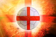 Stock Illustration of england ball