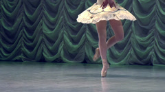 Recital Ballerina - stock footage