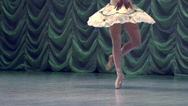 Stock Video Footage of Recital Ballerina