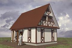 Residential building Stock Illustration