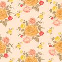 Stock Illustration of Seamless roses pattern