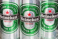 heineken dutch brewing company, the largest in the country - stock photo