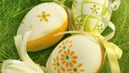 Stock Video Footage of Easter background, 4K