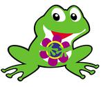 Stock Illustration of cartoon frog