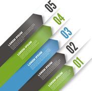 Design element template. Stock Illustration