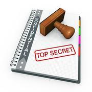 Top secret concept Stock Illustration