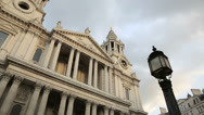Stock Video Footage of st paul's cathedral london