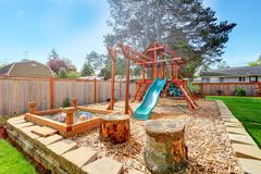 playground for kids - stock photo