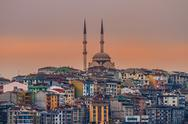 Stock Photo of mosque in istanbul turkey