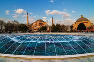 Stock Photo of hagia sophia church istanbul turkey