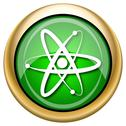 Stock Illustration of atoms icon