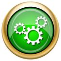 Stock Illustration of settings icon
