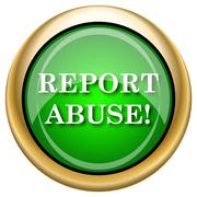 Stock Illustration of report abuse icon