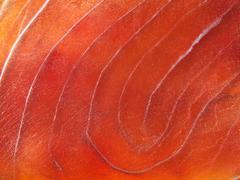blue marlin fillet taken closeup.food background. - stock photo