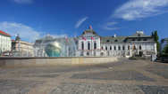 Stock Video Footage of Presidential Palace. Bratislava.Slovakiya
