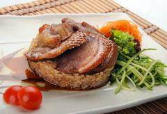 meat duck - stock photo