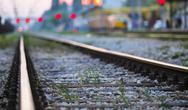 Stock Photo of railway track