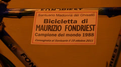 Bicycle Maurizio Frondiest Stock Footage
