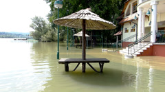 Floods in central Europe 2013. - stock footage