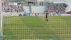 Soccer penalty kick Stock Footage