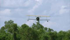 Grumman Duck FlyBy Head On Stock Footage