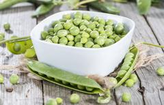 Stock Photo of fresh peas
