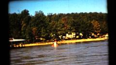 1961's  vintage,  Lake of Ozarks Stock Footage