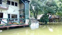 Floods in Central Europe 2013 - stock footage