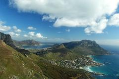 llandudno and hout bay near cape town, south africa - stock photo