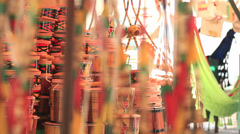 Crafts. Close up Stock Footage
