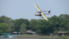 Sikorsky S-39 Fly By Stock Footage