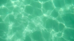Underwater. Sun rays. Water. Stock Footage