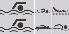 Uinti kuvakkeet Piirros
