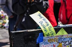 Boston Marathon Memorial Kuvituskuvat