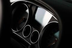 Car dashboard detail Stock Photos
