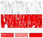 Stock Illustration of poland grunge flag set