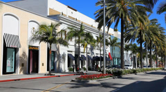 Rodeo Drive, Beverly Hills Arkistovideo