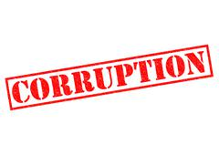 Corruption Stock Illustration