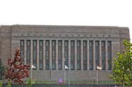 Stock Photo of Parliament of Finland, in the capital, Helsinki