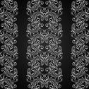 Stock Illustration of vertical grey seamless pattern