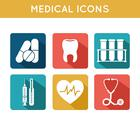 Stock Illustration of health care medical icons set