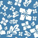 Stock Illustration of tropical summer flowers seamless pattern
